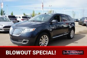2013 Lincoln MKX ALL WHEEL DRIVE Accident Free,  Navigation (GPS