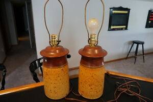 Wilton Pottery Lamps