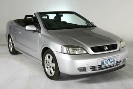 2003 Holden Astra TS MY03 Limited Edition Silver 4 SPEED Automatic Convertible Melbourne CBD Melbourne City Preview