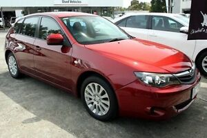 2011 Subaru Impreza G3 MY11 R AWD Special Edition Red 4 Speed Sports Automatic Hatchback Croydon Maroondah Area Preview