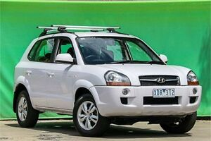 2009 Hyundai Tucson MY09 City SX White 5 Speed Manual Wagon Ringwood East Maroondah Area Preview