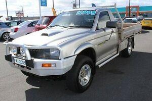 2004 Mitsubishi Triton MK MY04 GLX Silver 5 Speed Manual Cab Chassis Devonport Devonport Area Preview