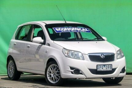 2008 Holden Barina TK MY08 White 5 Speed Manual Hatchback Ringwood East Maroondah Area Preview