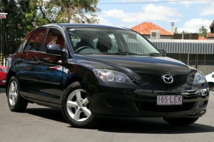 2008 Mazda 3 BK10F2 MY08 Neo Sport Black 4 Speed Sports Automatic Hatchback