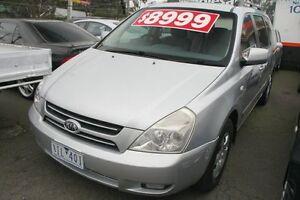 2006 Kia Grand Carnival VQ EX Luxury Silver 5 Speed Automatic Wagon Briar Hill Banyule Area Preview
