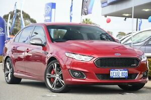 2015 Ford Falcon FG X XR8 Red/Black 6 Speed Sports Automatic Sedan Willagee Melville Area Preview