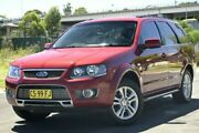 2010 Ford Territory SY Mkii TS Limited Edition (RWD) Red 4 Speed Auto Seq Sportshift Wagon Granville Parramatta Area Preview