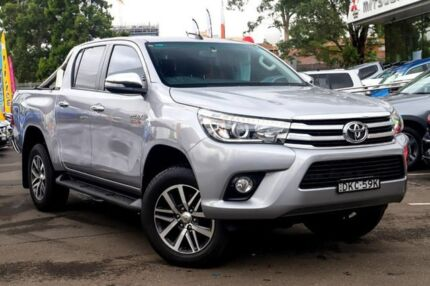 2016 Toyota Hilux GUN126R SR5 Double Cab 6 Speed Sports Automatic Utility Blacktown Blacktown Area Preview