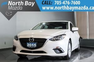 2015 Mazda Mazda3 Sport GS Locally Owned with Navigation!