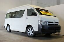 2011 Toyota Hiace KDH223R MY11 Upgrade Commuter White 4 Speed Automatic Bus Underwood Logan Area Preview