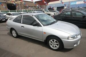 2003 Mitsubishi Lancer CE2 MY02.5 GLi Silver 5 Speed Manual Coupe Kingsville Maribyrnong Area Preview