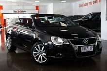 2008 Volkswagen EOS 1F MY08 FSI DSG Black 6 Speed Sports Automatic Dual Clutch Convertible Frankston Frankston Area Preview