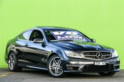 2013 Mercedes-Benz C63 C204 MY13 AMG SPEEDSHIFT MCT Blue 7 Speed Sports Automatic Coupe Ringwood Maroondah Area Preview