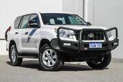 2012 Toyota Landcruiser Prado KDJ150R GX White 5 Speed Sports Automatic Wagon Rockingham Rockingham Area Preview