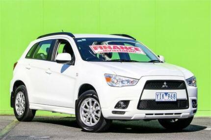 2011 Mitsubishi ASX XA MY11 White 6 Speed Constant Variable Wagon