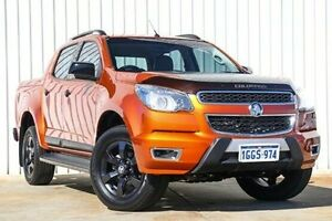 2016 Holden Colorado RG MY16 Z71 Crew Cab Orange 6 Speed Sports Automatic Utility Willetton Canning Area Preview