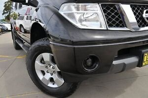 2010 Nissan Navara D40 ST (4x4) Black 6 Speed Manual Dual Cab Pick-up Greenacre Bankstown Area Preview
