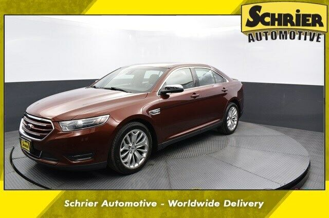2015 Ford Taurus Limited 28,143 Miles Ruby Red Metallic Tinted Clearcoat 4D Seda