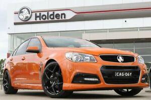 2014 Holden Commodore VF MY14 SV6 Fantale Orange 6 Speed Manual Sedan
