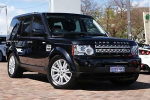 2011 Land Rover Discovery 4 Series 4 MY11 SDV6 CommandShift HSE Sumatra Black/ 6 Speed Osborne Park Stirling Area Preview