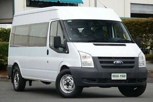 2010 Ford Transit VM Mid Roof Frozen White 6 Speed Manual Bus Acacia Ridge Brisbane South West Preview