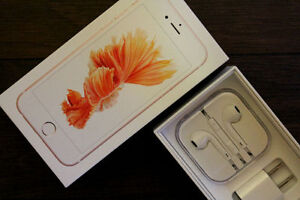 UNLOCKED Rose Gold IPhone 6S 16GB with Apple Care