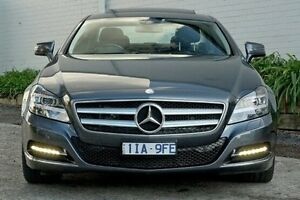 2011 Mercedes-Benz CLS350 CDI Grey Sports Automatic Sedan Burwood Whitehorse Area Preview