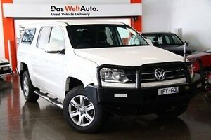 2013 Volkswagen Amarok 2H MY13 TDI420 4Motion Perm Trendline White 8 Speed Automatic Utility Frankston Frankston Area Preview
