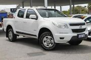 2012 Holden Colorado RG MY13 LX Crew Cab 4x2 White 6 Speed Sports Automatic Utility Osborne Park Stirling Area Preview