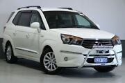 2016 Ssangyong Stavic A100 MY13 White 5 Speed Automatic Wagon Bentley Canning Area Preview