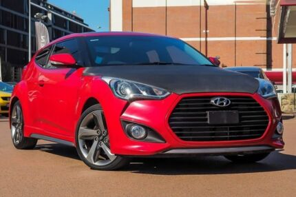 2015 Hyundai Veloster FS4 Series II SR Coupe Turbo Red 6 Speed Manual Hatchback