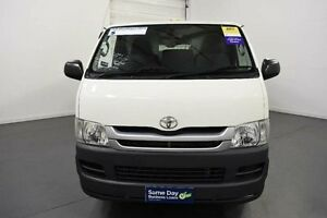 2009 Toyota Hiace TRH201R MY07 Upgrade LWB White 4 Speed Automatic Van Moorabbin Kingston Area Preview