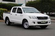 2014 Toyota Hilux GGN15R MY14 SR Double Cab 4x2 Glacier 5 Speed Automatic Utility Acacia Ridge Brisbane South West Preview