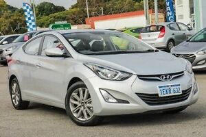 2014 Hyundai Elantra MD3 Trophy Silver 6 Speed Manual Sedan Myaree Melville Area Preview