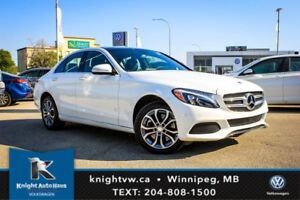2015 Mercedes-Benz C-Class C 300 AWD w/ Leather/Sunroof