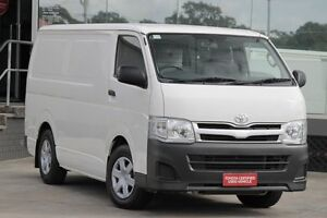 2011 Toyota Hiace KDH201R MY11 Upgrade LWB White Solid 4 Speed Automatic Van Old Guildford Fairfield Area Preview