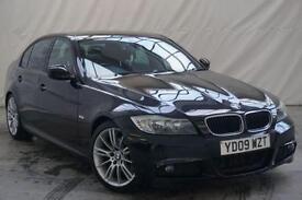 2009 BMW 3 Series 2.0 320D M SPORT 4d 175 BHP Diesel black Manual