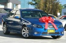 2007 Ford Fairmont BF Mk II Blue 4 Speed Sports Automatic Sedan Pennant Hills Hornsby Area Preview