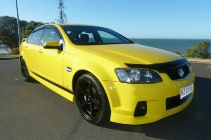 2011 Holden Commodore VE II MY12 SV6 Yellow 6 Speed Sports Automatic Sedan South Gladstone Gladstone City Preview