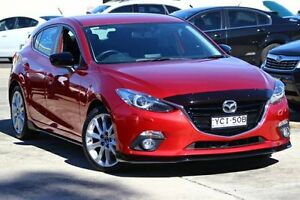 2015 Mazda 3 BM5438 SP25 SKYACTIV-Drive GT Red 6 Speed Sports Automatic Hatchback Maryville Newcastle Area Preview