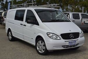 2010 Mercedes-Benz Vito 639 MY10 111CDI Low Roof Extra Long White 6 Speed Manual Van Pearsall Wanneroo Area Preview