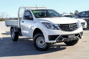 2018 Mazda BT-50 UR0YG1 XT 4x2 Hi-Rider White 6 Speed Manual Utility Liverpool Liverpool Area Preview