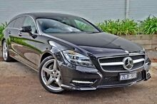 2012 Mercedes-Benz CLS350  Black Sports Automatic Wagon Burwood Whitehorse Area Preview