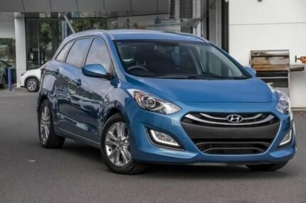 2014 Hyundai i30 GD Active Tourer Blue 6 Speed Sports Automatic Wagon Mount Gravatt Brisbane South East Preview