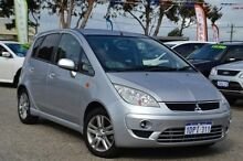 2011 Mitsubishi Colt RG MY11 VR-X Silver 5 Speed Manual Hatchback Pearsall Wanneroo Area Preview
