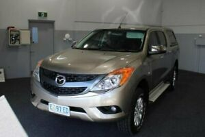 2013 Mazda BT-50 UP0YF1 XTR Gold 6 Speed Sports Automatic Utility Glenorchy Glenorchy Area Preview