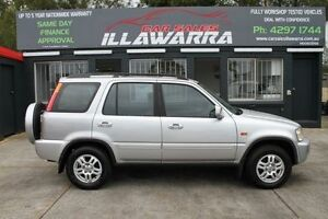 2001 Honda CR-V RD MY2002 Sport Grey 5 Speed Manual Wagon Barrack Heights Shellharbour Area Preview