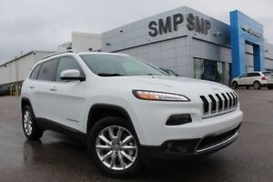 2016 Jeep Cherokee Limited - 3.2L V6, Leather, Nav, Remote Start