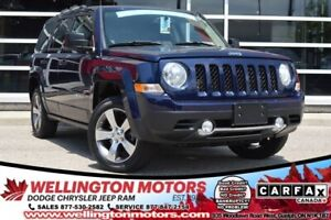 2016 Jeep Patriot High Altitude / Low Low k's / Warranty / 4x4 !