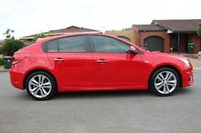 2013 Holden Cruze  Red Manual Hatchback Nailsworth Prospect Area Preview